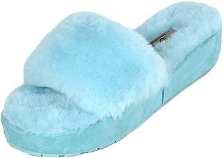 Women's New Spa-01 Slide Fluffy Comfy Winter Slippers