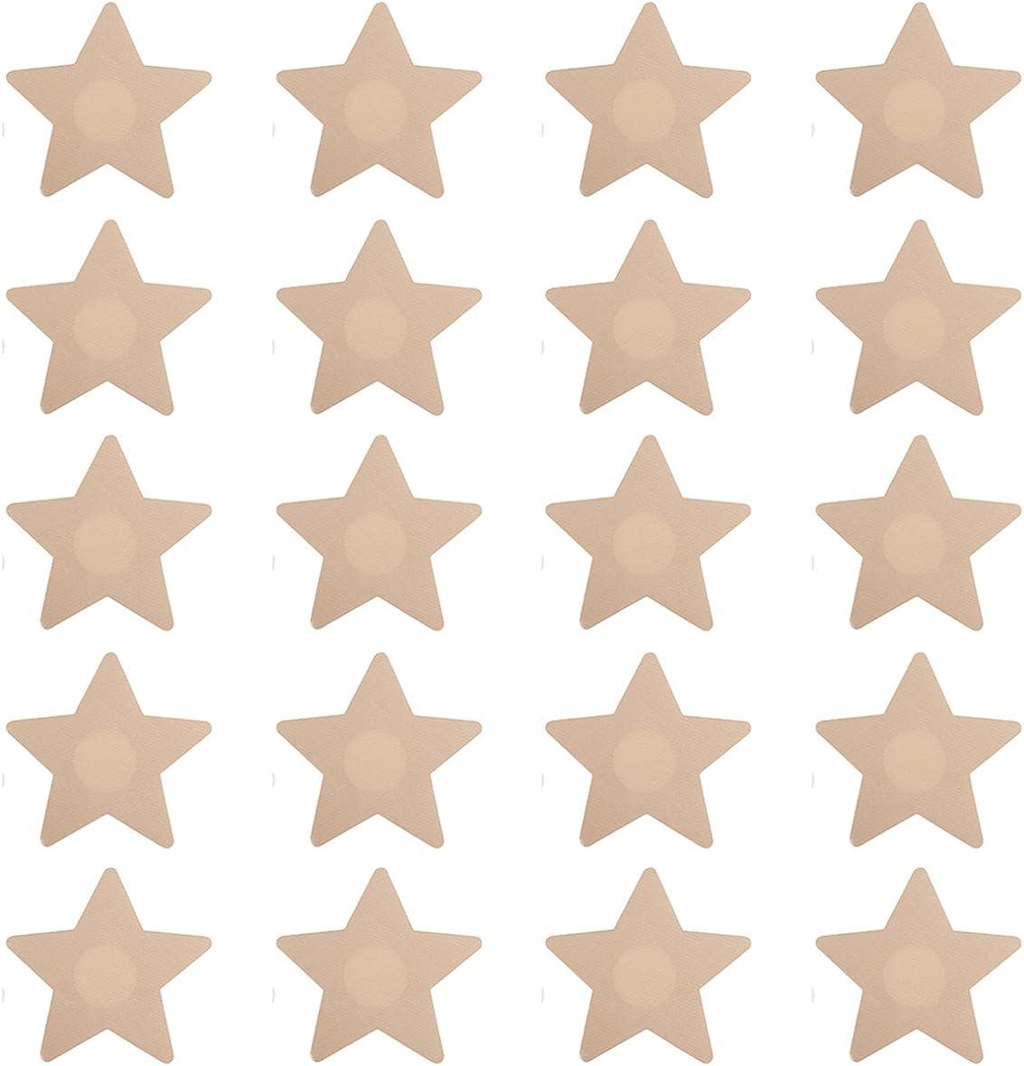 10 New Free Shipping Pairs Star Shape Max 66% OFF NippleCovers Breast Pe Adhesive Pasties Bra