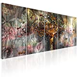 murando - Bilder Gustav Klimt Baum des Lebens 200x80 cm - Vlies Leinwandbild 5 Teilig Kunstdruck modern Wandbilder XXL Wanddekoration Design Wand Bild - Abstrakt l-A-0007-b-n
