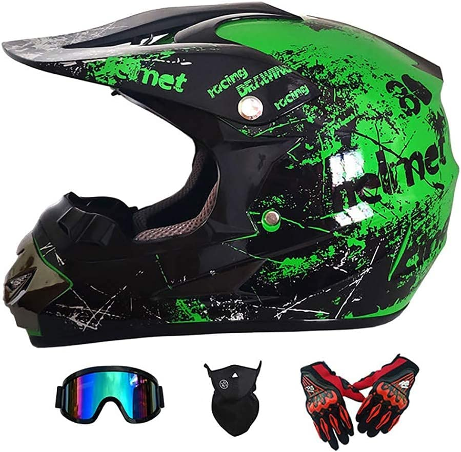 Cycling Helmet Dealing full price reduction Motocross Popular popular Sets Motorcycle Bike Dirt