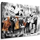 Beatles - Lennon - Bild 120x80cm Bild fertig auf Keilrahmen - Pop Art Gemälde Kunstdrucke, Wandbilder - Bilder zur Dekoration - Deko. Musik Stars Kunstdrucke