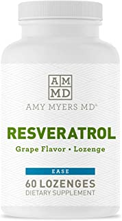 Dr. Amy Myers Resveratrol Supplement - Powerful Free Radical Scavenger to Support Immune System, Heart Health & Optimal Ag...