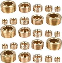 QLOUNI 25pcs Brass Pipe Fitting,1/8