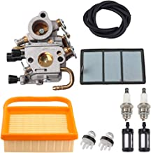 Kuupo 4238-120-0600 Carburetor with 42381410300B 4238 140 4401 Air Filter Cleaner for Stihl TS410 TS420 TS410Z TS420Z Concrete Cut-Off Saw Zama C1Q-S118 Carb