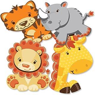 safari ribbon baby shower