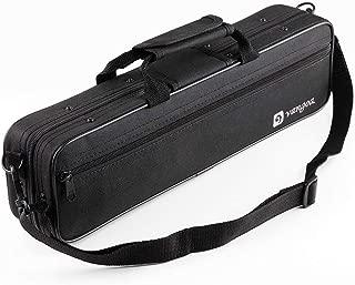 Vangoa Flute Case Carrying Bag Waterproof Lightweight for 16 Holes Flute C Foot with Adjustable Shoulder Strap and Exterior Pocket
