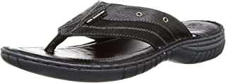 Lee Cooper Men's Leather Comfortable Thong Sandals