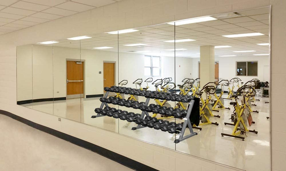 Wall Mounted Activity Mirrors for Home 1 Use and Nashville-Davidson Mall price Commercial Gym
