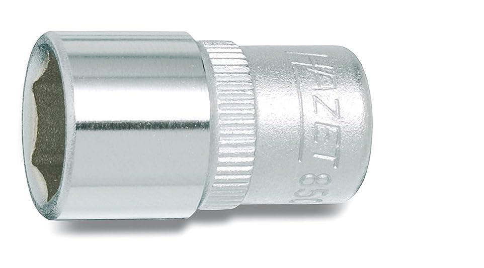 ママそこ磁器HAZET(ハゼット) ソケット 6角 850-10 二面幅:10×差込角:6.35×全長:25mm 1個