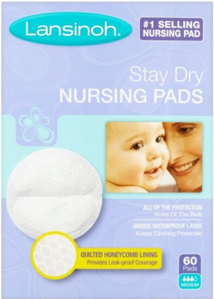 Lansinoh 20265 Regular discount Disposable Atlanta Mall Nursing Pads Pack 60-Count Boxes of