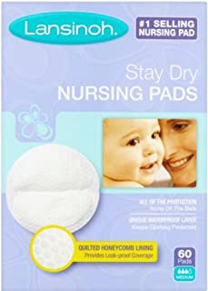 Lansinoh 20265 Disposable Nursing Pads,  60-Count Boxes (Pack of 3)