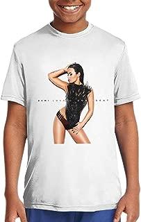 ROWANJEFFERS Demi Lovato Confident Unisex Boys Girls T Shirts Teenager Tees White