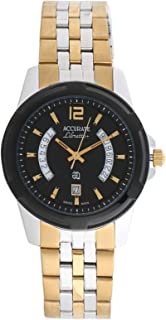 Accurate Casual Watch Analog for Men, Stainless Steel, AMQ187