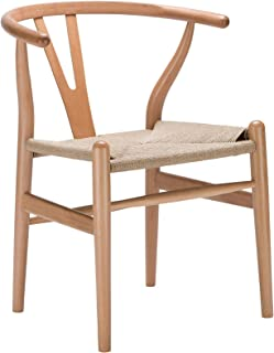Poly and Bark Weave Chair in Natural