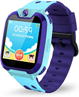Themoemoe Kids Smartwatch Phone. Kids Music Watch Without GPS with Camera Music 7 Games Alarm Birthday Gift for Kids 3-14 ...