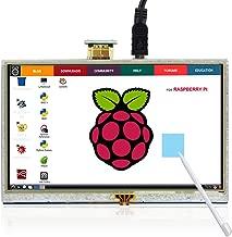 ELECROW 5 Inch Touch Screen 800x480 TFT LCD Display HDMI Interface for Raspberry Pi 4B 3B+ 3B 2B+ BB Black Banana Pi Windows 10 8 7