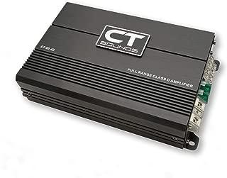 CT Sounds CT-80.4D Car Audio Full Range Class D 4 Channel Amplifier