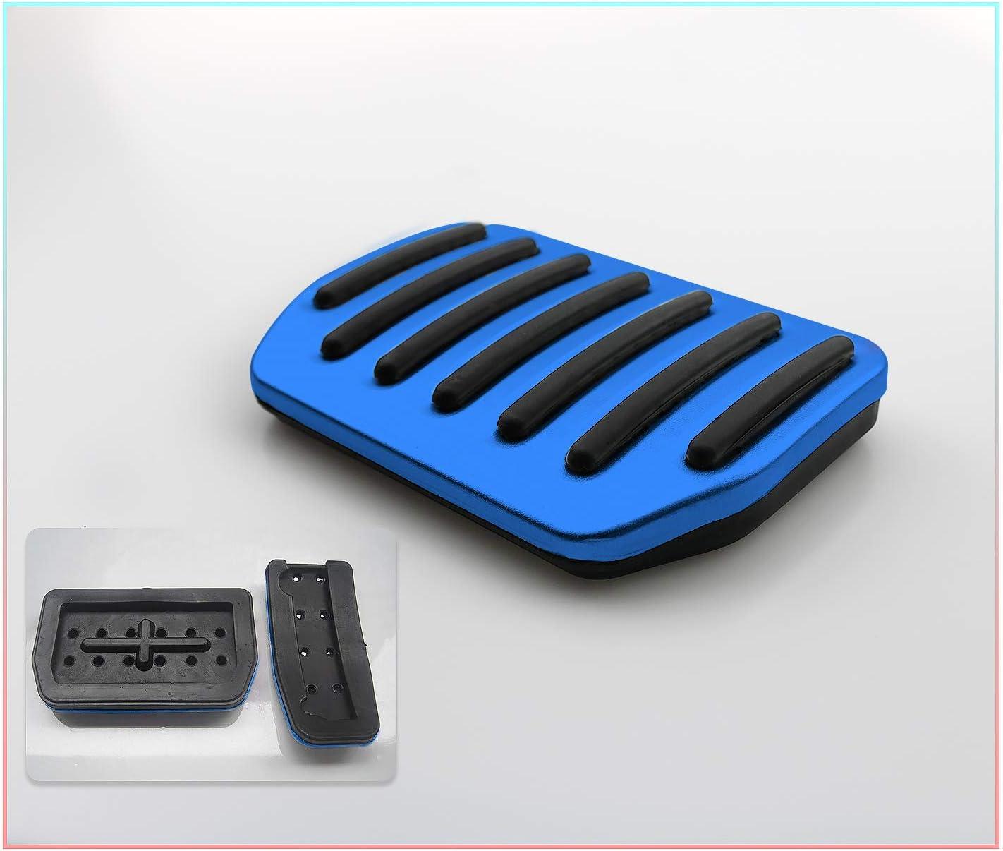 Cdefg Für Model 3 Auto Bremse Gaspeda Aluminiumlegierung Fußstütze Anti Rutsch Bremse Pedalkappen Silber Auto