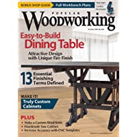 1-Year (6 Issues) of Popular Woodworking Magazine Subscription