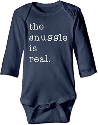 0116cf049 The Snuggle Is Real Toddler Funny Outfits Baby Onesies