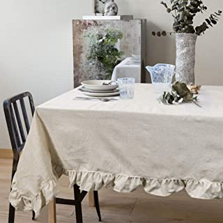 Best shabby chic round tablecloth Reviews