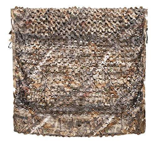 300D Camo Net Camouflage Netting Blinds Material for Hunting Accessories Ground Portable Blind Tree Stand Chair Brown 5x10 Feet