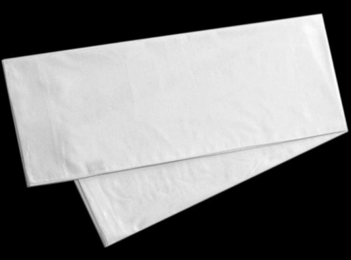 Precious Star Linen American Choice! Genuine 425 Thread Count Egyptian Cotton Soft 2-Pieces Pillowcase Solid/Plain (Oversize Queen {21 x 32 Incj}, Natural White)