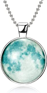 Best full moon necklace glow in the dark Reviews