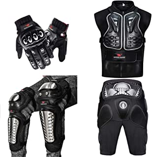 MomokaiTK /Équipement de Protection Moto Armure Protection Motocross V/êtements Veste Protecteur Moto Cross Retour Armure De Protection