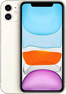 Apple iPhone 11 With facetime Physical Dual SIM - 128GB, 4G, LTE, White, International Version