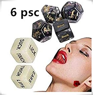 Multifaceted Style Game Dice Toy,6Pcs