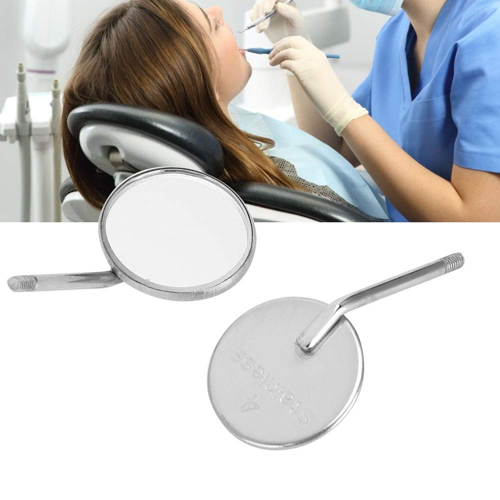 Dental Mouth Mirror Head 70% OFF Outlet online shopping Pieces -20 Stainless #5