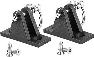 Zawias pokładu morskiego, para Zawias pokładowy z baldachimem Łódź Bimini Top Fitting W/Quick Release Pin Części morskie z...