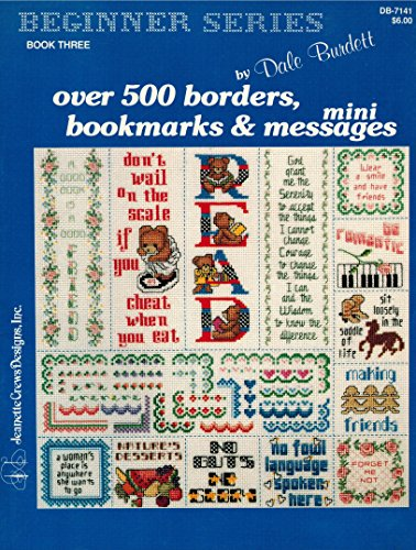 OVER 500 BORDERS, BOOKMARKS & MINI MESSAGES (BEGINNER SERIES BOOK THREE)
