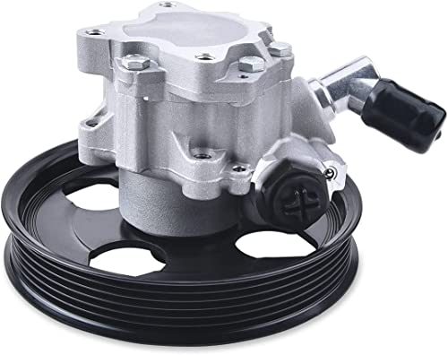 discount SPELAB Power Steering Pump with Pulley Compatible for Jeep new arrival Wrangler (JK) (2007-2011) w/ 3.8L 6 Cyl Engine high quality Replace # 52059899AE/ RJ51040002 outlet online sale