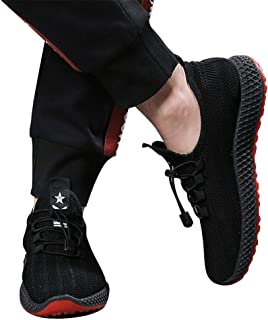 RONSHIN Men Breathable Sports Casual Lacing Running Shoes Sneakers
