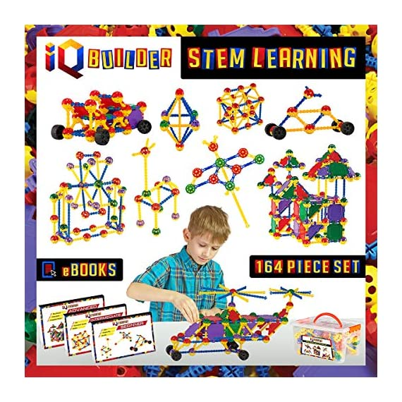 IQ-BUILDER-STEM-Learning-Toys-Creative-Construction-Engineering-Fun-Educational-Building-Toy-Set-for-Boys-and-Girls-Ages-3-4-5-6-7-8-9-10-Year-Old-Best-Toy-Gift-for-Kids-Top-Blocks-Game-Kit