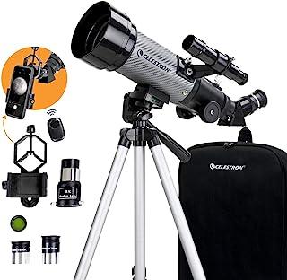 Celestron - 70mm Travel Scope DX - Portable Refractor Telescope - Fully-Coated Glass Optics - Ideal Telescope for Beginner...