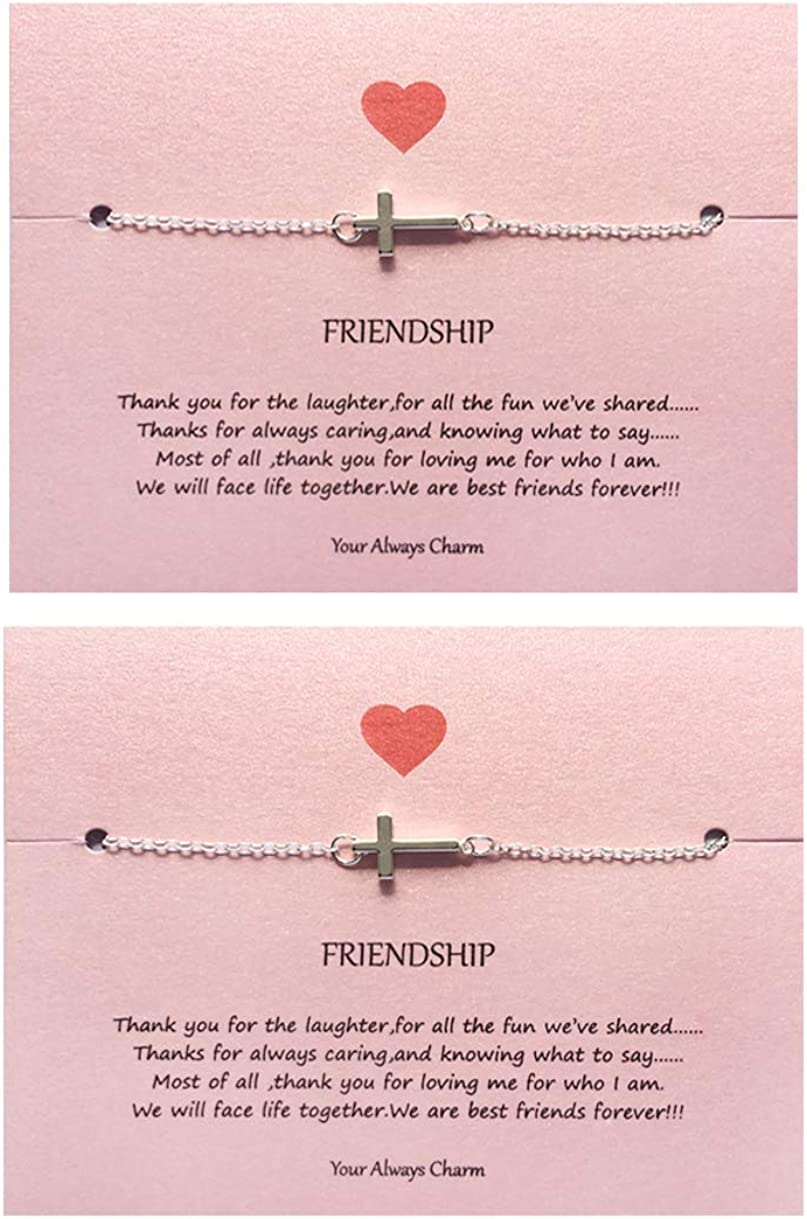 Your Always trend rank Charm Faith Cross Meaningful favorite Religious Gift Bracelet
