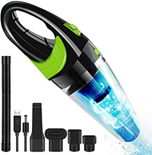 LHQ-HQ Strong Power Car Vacuum Cleaner for Home Car Portable Handheld Vacuum Cleaner 120W Car Vacuum Cleaner