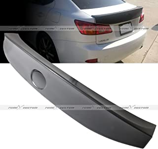 Remix Custom Walds Style ABS Rear Trunk Spoiler Wing Compatible with 2006-2012 Lexus IS250 / IS350