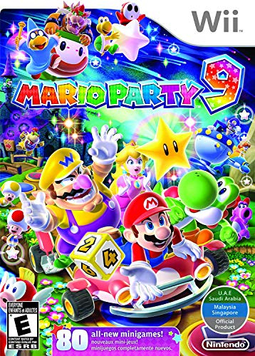 Wii Mario Party 9  World Edition