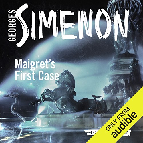 Maigret's First Case audiobook cover art