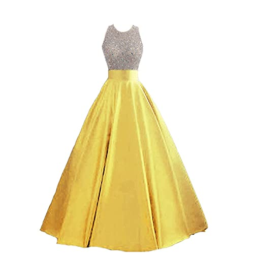 27e08bd1338 Yellow Prom Dresses: Amazon.com
