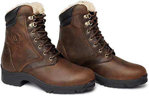 Mountain Horse Wohommes Snowy River Lace Paddock bottes