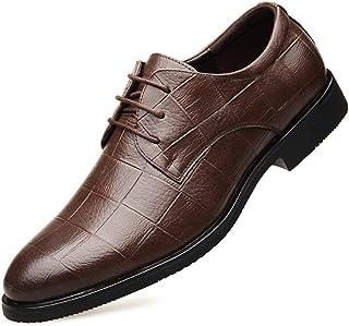 [ALX WANG] ビジネスシューズ メンズ靴 高級 本革 通気快適 オールシーズン 就活 通勤 普段用 紳士靴 結婚式 防滑