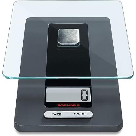 Soehnle 6208319 Balance Electronique Fiesta Noir 5 Kg / 1 g