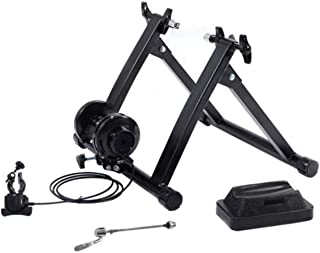 New Indoor Bicycle Trainer Exercise Bike Machine Ride Stand W/ 5 Levels Resistance Stationary
