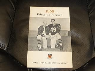 1968 PRINCETON COLLEGE FOOTBALL MEDIA GUIDE EX-MINT BOX 13