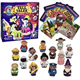 SCS Direct, Tall Tales Story Telling Board Game Expansion Pack: People Edition - Includes 14 New Educational Game Pieces and 4 Story Cards - Promotes Creativity and Language Skills